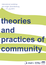 Theories and Practices of Community